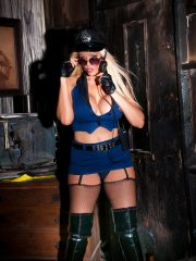 Lucy Zara Gallery – Hot Kinky Lucy Poses As A Cop
