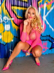 Lucy Zara Galleries – Lucy in Pink Body Lace